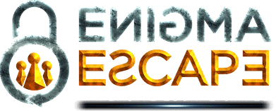 Logo: escape rooms Enigma London
