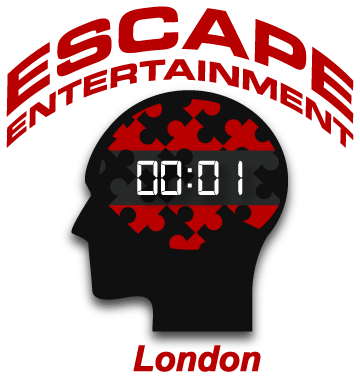 Logo: escape rooms Escape Entertainment London