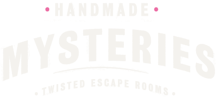 Logo: escape rooms Hand Made Mysteries London