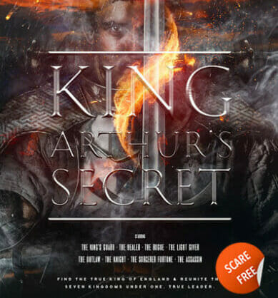 preview for escape room King Arthur's Secret Leeds