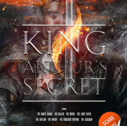 preview for escape room King Arthur's Secret Leeds